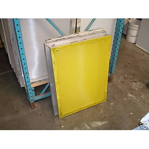 "Aluminum Screen 20x24"" 305 Yellow Mesh"